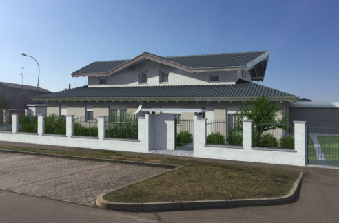 Villa bio edilizia vendita Dairago