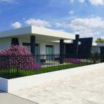 Stupenda villa a schiera con terrazzo e giardino