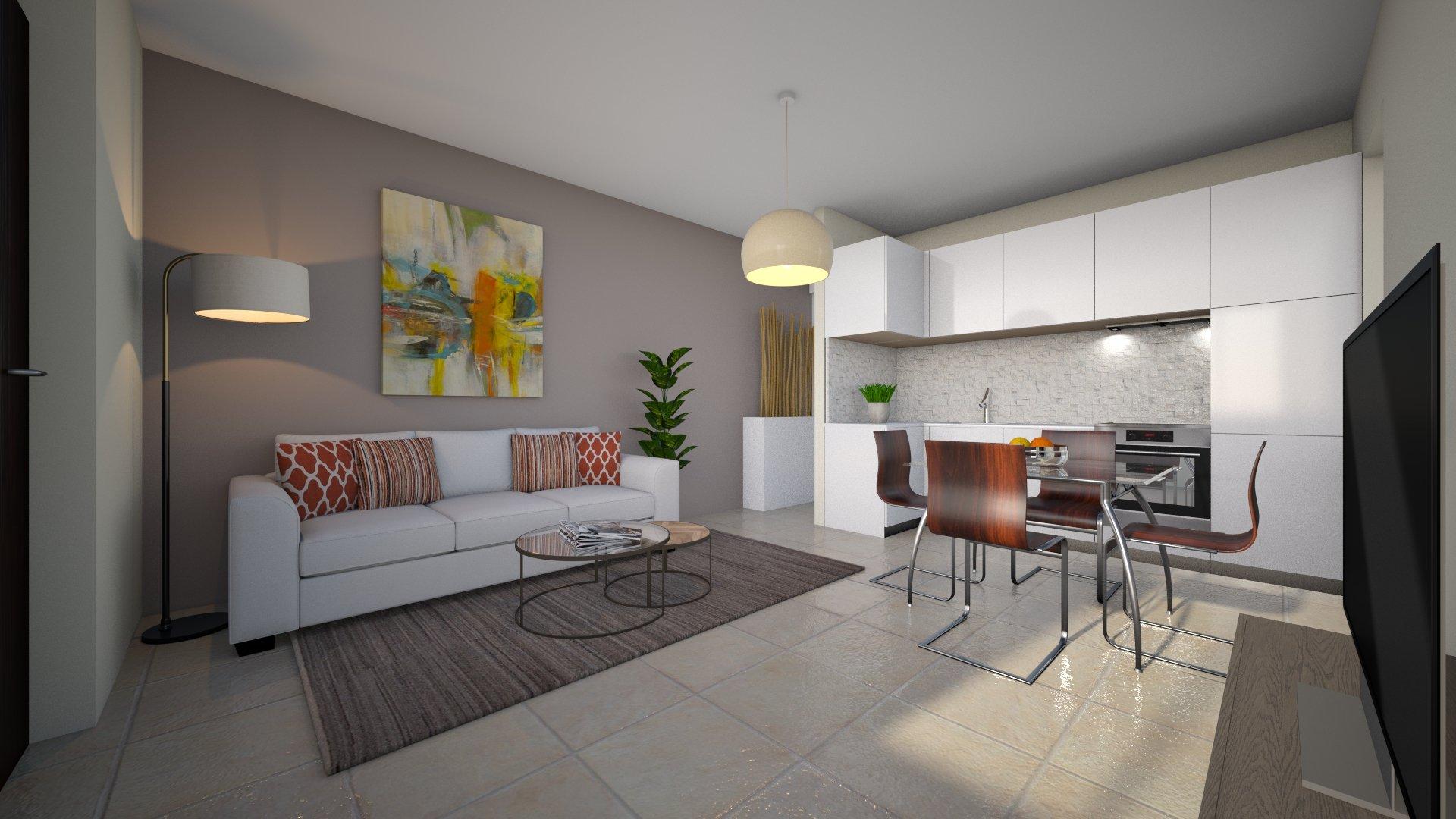 Appartamento in villa in vendita a Magnago