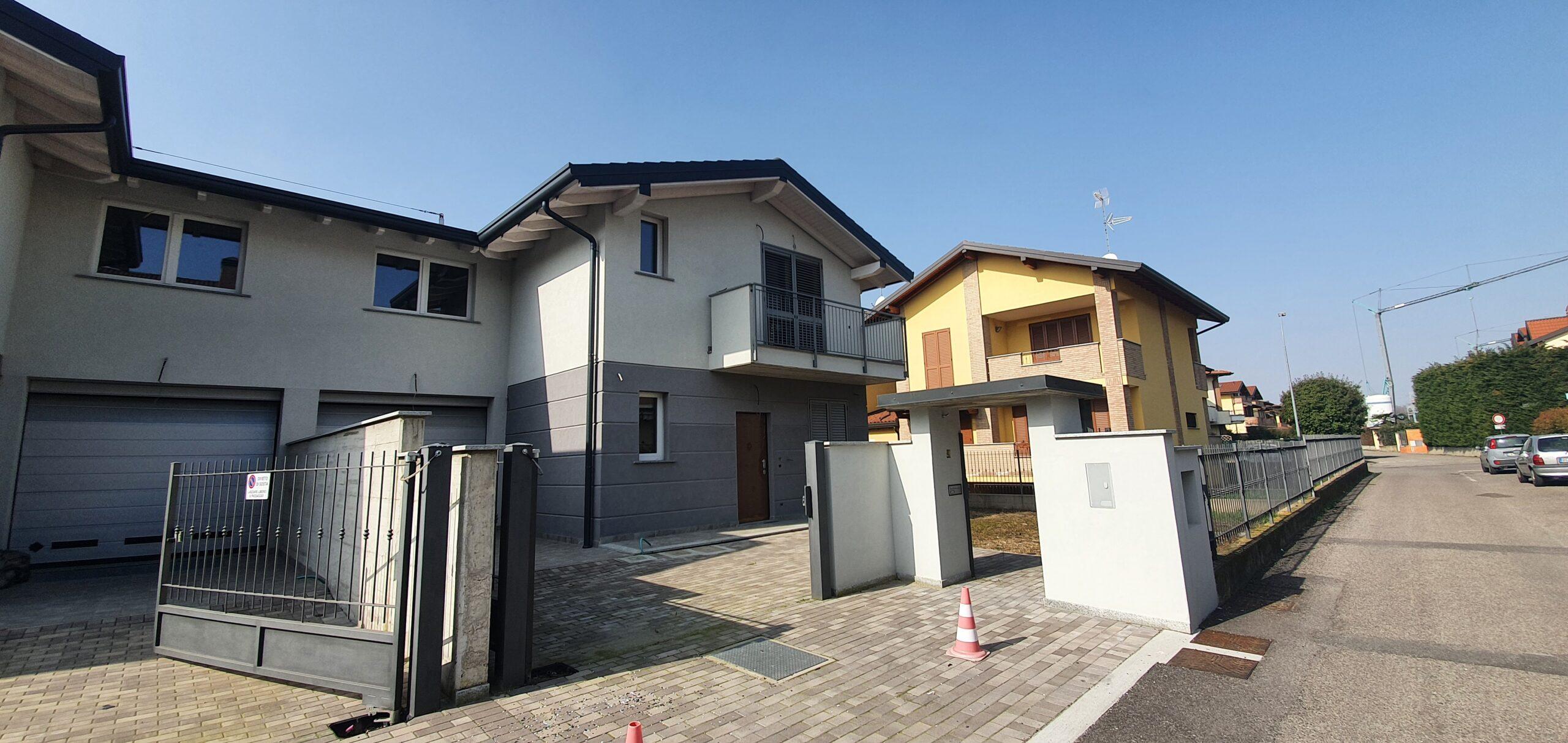 Villa di nuova costruzione a Dairago