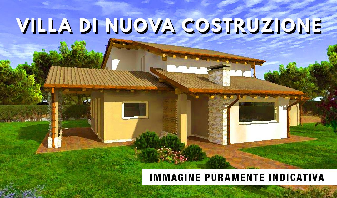 Villa di nuova realizzazione in vendita a Magnago